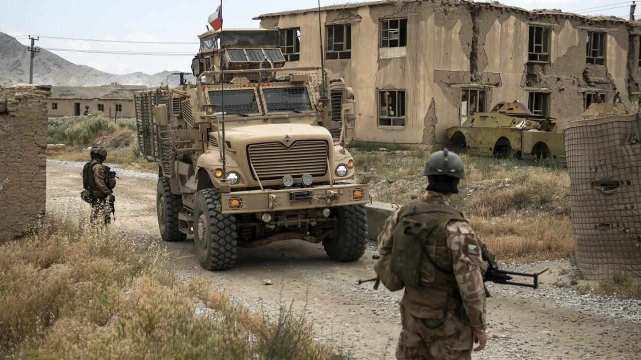 Afghánistán, vojáci, ČR