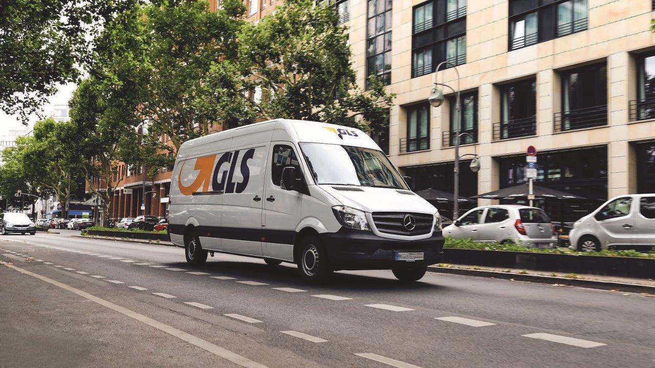 Rozvážkové vozidlo GLS – ilustrační foto.