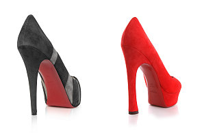 Červená barva patří Louboutinovi. Slavný obuvník vyhrál soudní spor o rudou podrážku