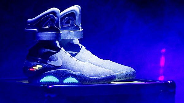 Svítící boty Nike