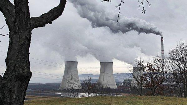 Uhelná elektrárna skupiny ČEZ Prunéřov