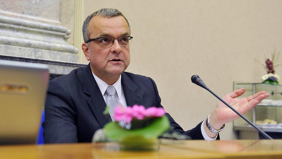 Ministr financí Miroslav Kalousek (TOP 09)