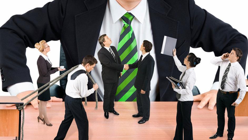 sankce pro zamestnance, dozor