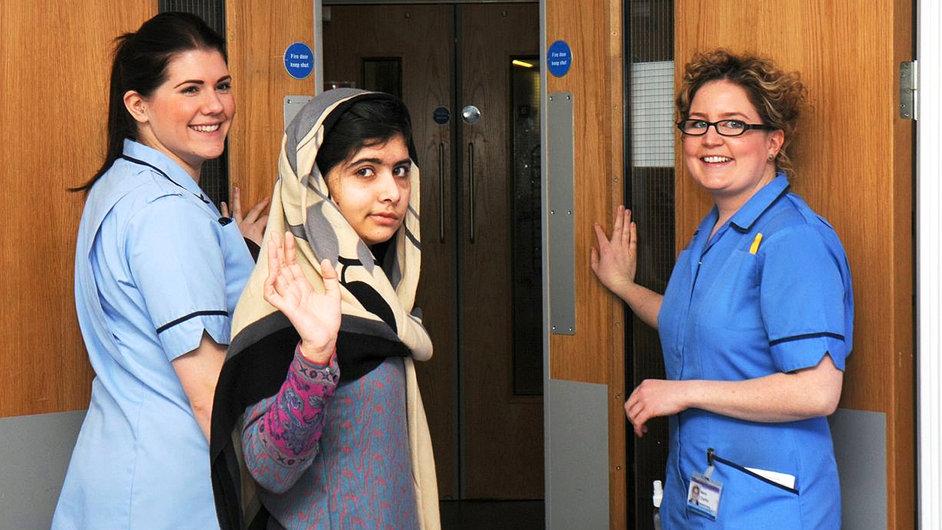 Pákistánská školačka Malalaj Júsufzaiová