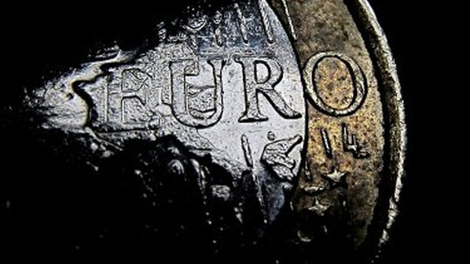 Euro, ilustrační foto.