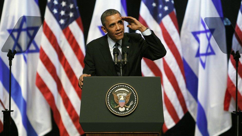 Barack Obama na návštěvě Izraele