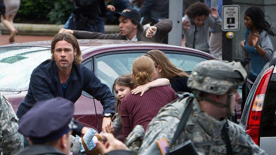 Světová válka Z, Brad Pitt