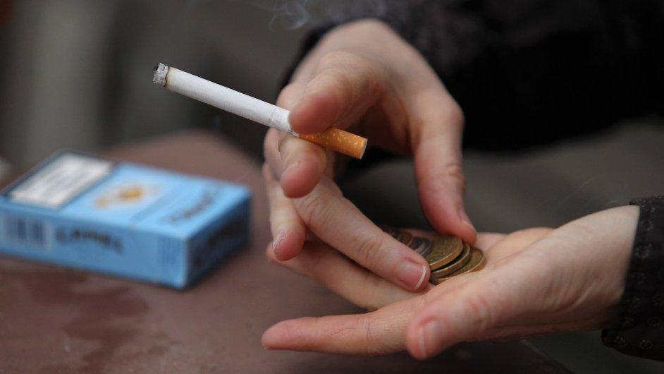 Cigarety, ilustrační foto