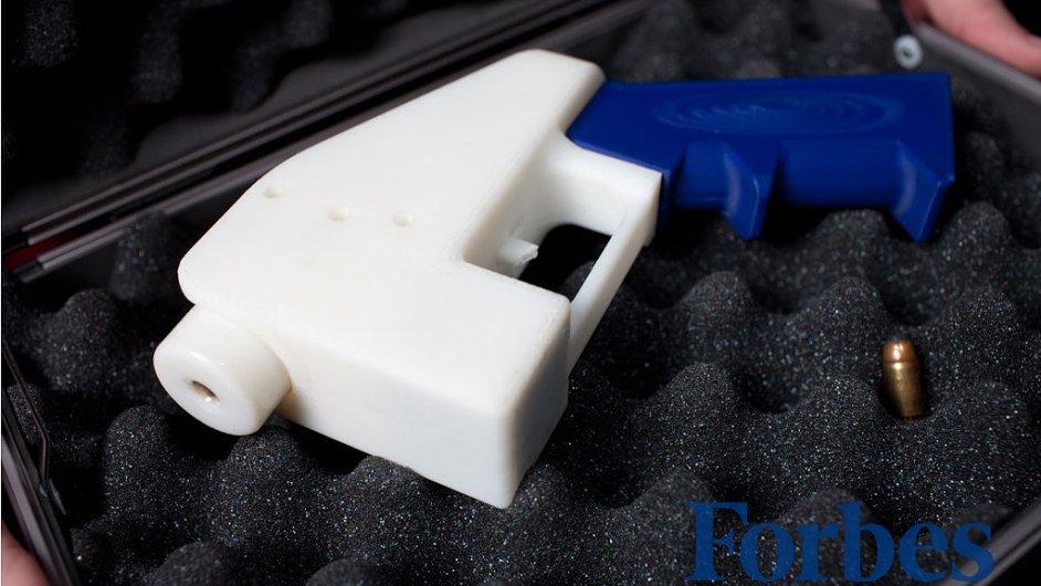 Liberator, funkční pistole vyrobená 3D tiskárnou