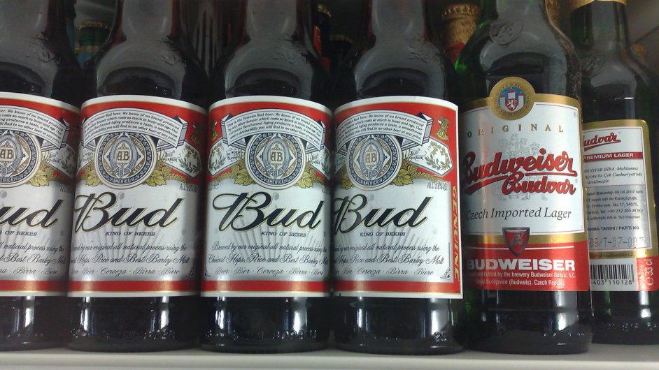 Bud a Budvar - nově v Evropě mohou být obě značky Bud obou pivovarů vedle sebe