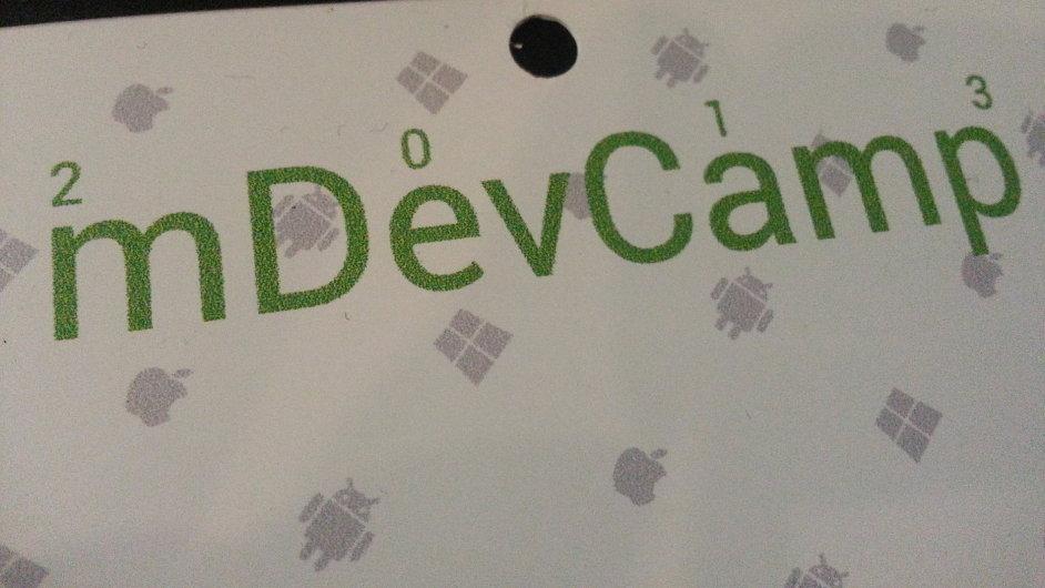 mDevCamp: Pražská konference pro vývojáře mobilních aplikací