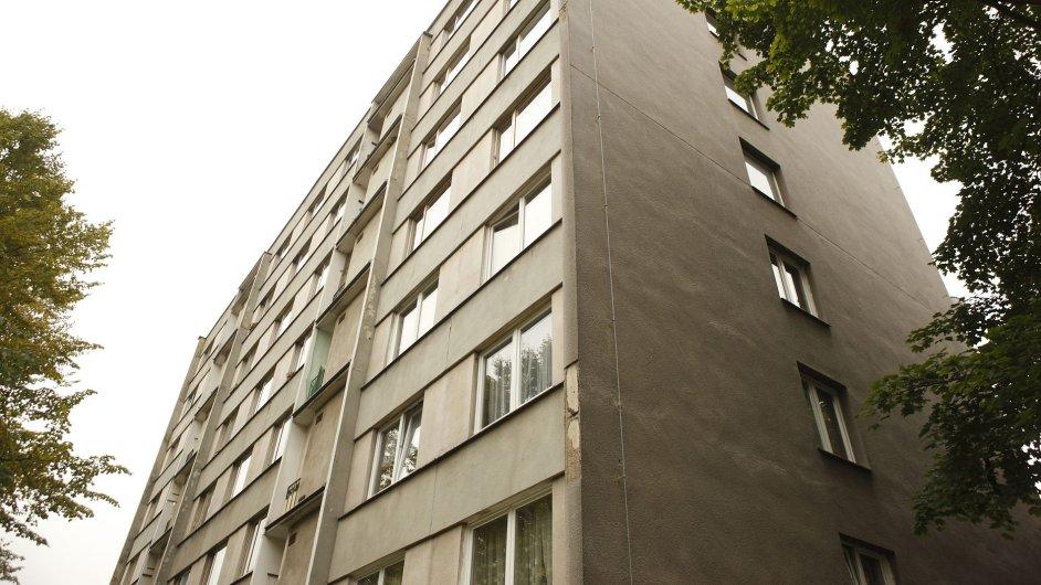 Panelový dům (ilustrační foto)