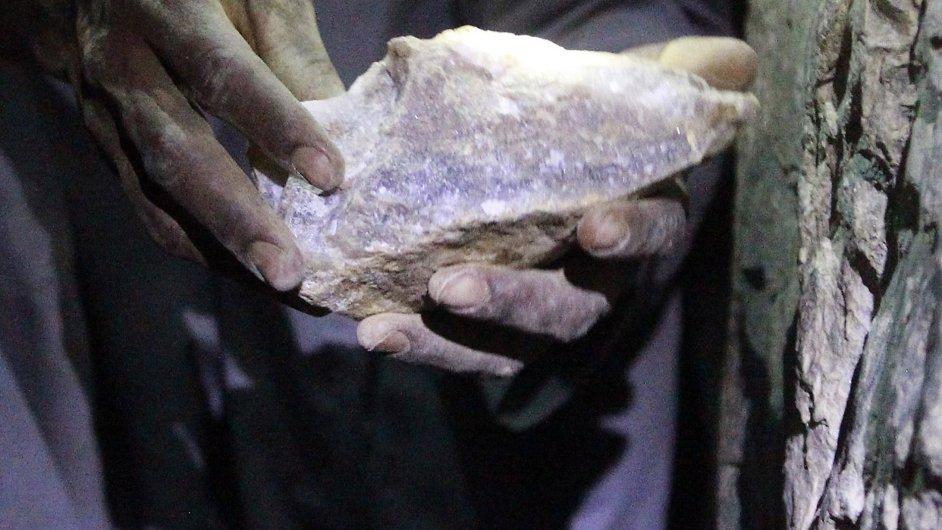 Těžba zlata v Súdánu