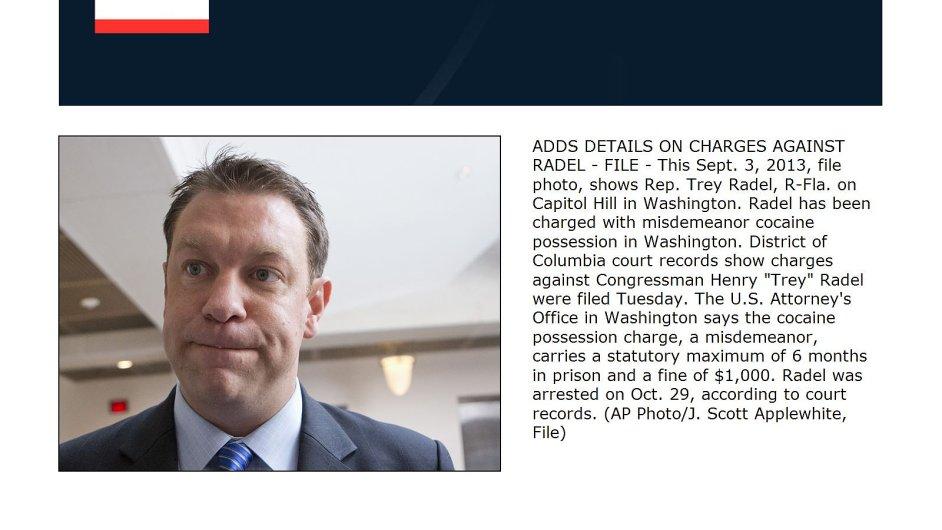 Odsouzený americký poslanec Henry Radel