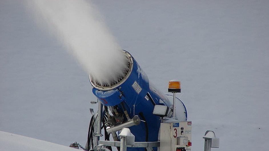 Sněžné dělo, ilustrační snímek