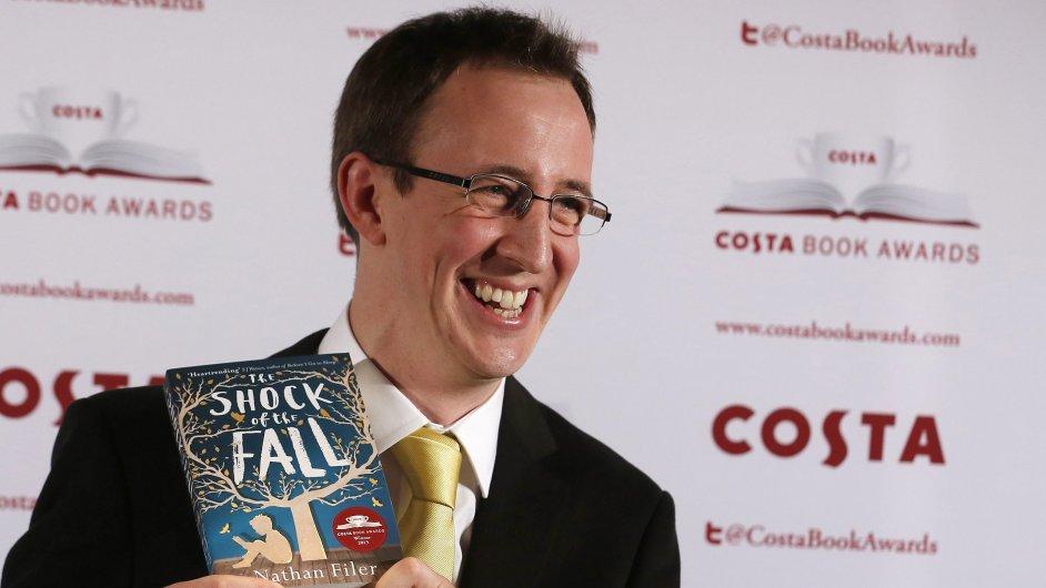 Prestižní cenu Costa dostal Nathan Filer za román o schizofrenikovi.