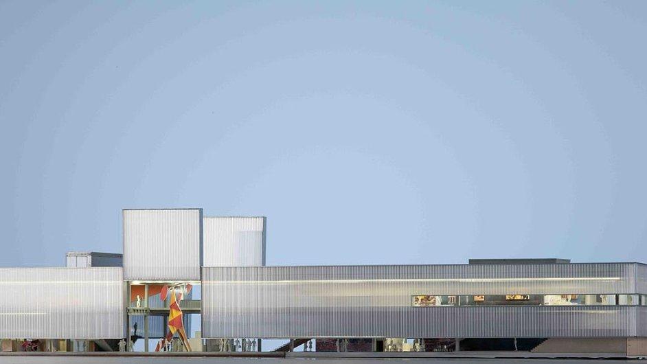 Návrh nové budovy pro moskevské muzeum Garáž