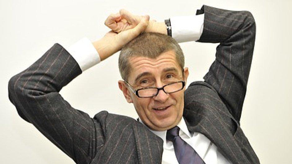Andrej Babiš, šéf Agrofertu