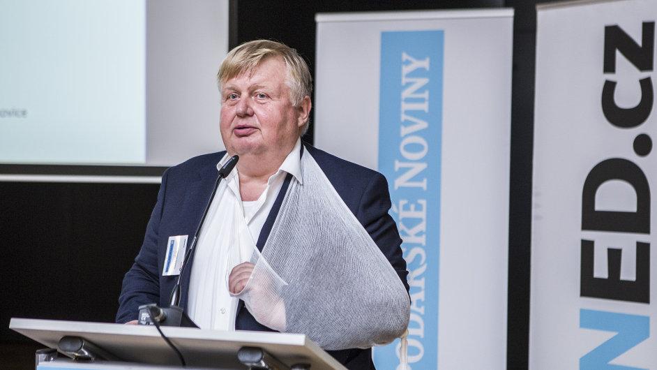 Šéf holdingu Vítkovice Jan Světlík na konferenci Ostravsko, místo pro byznys