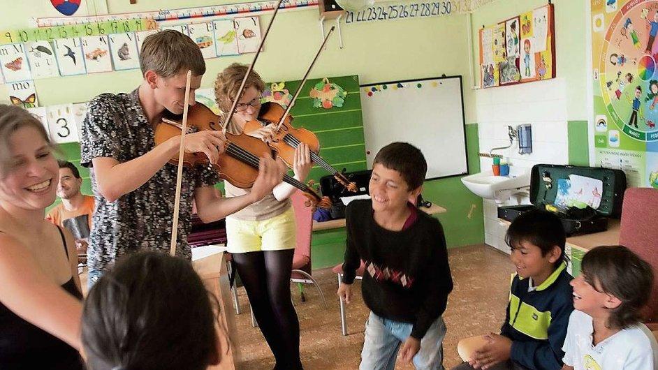 Výlet filharmoniků na Slovensko spolupořádala organizace Sociálny Prešov vedená Inge Doležalovou.