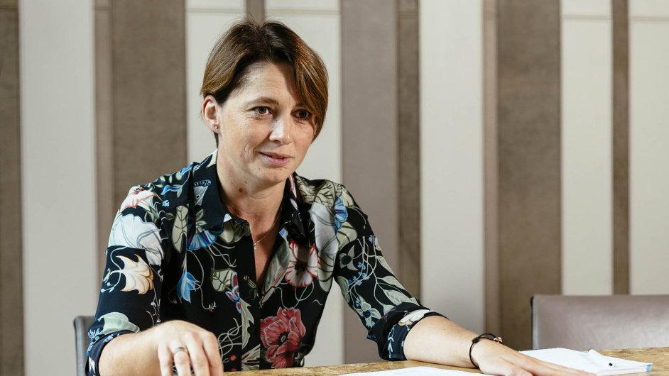 Finanční ředitelka PPF Kateřina Jirásková