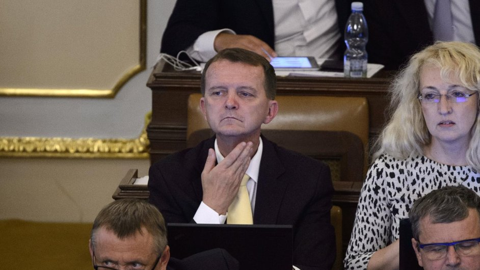 Poslanec Ladislav Šincl ve sněmovně