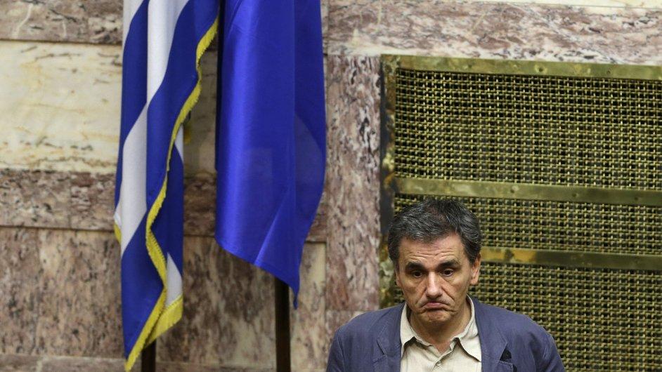 Řecká ministr financí Euklid Tsakalotos (na snímku) prohlásil, že vyjednávání o reformých byla nejtěžším dnem jeho života.