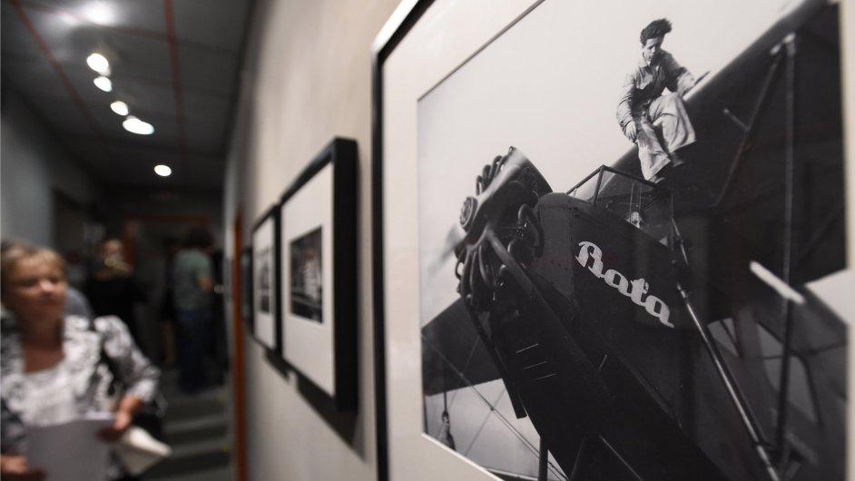 Snímky z výstavy Jana Lukase