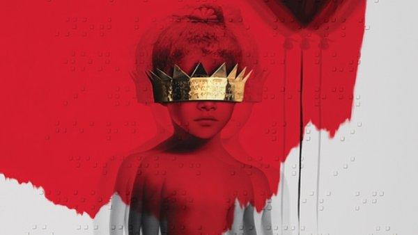 Na ob�lce nov�ho alba Anti je fotka Rihanny z d�tstv�.