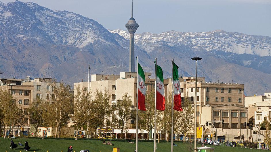 Teherán, Írán, ilustrační foto