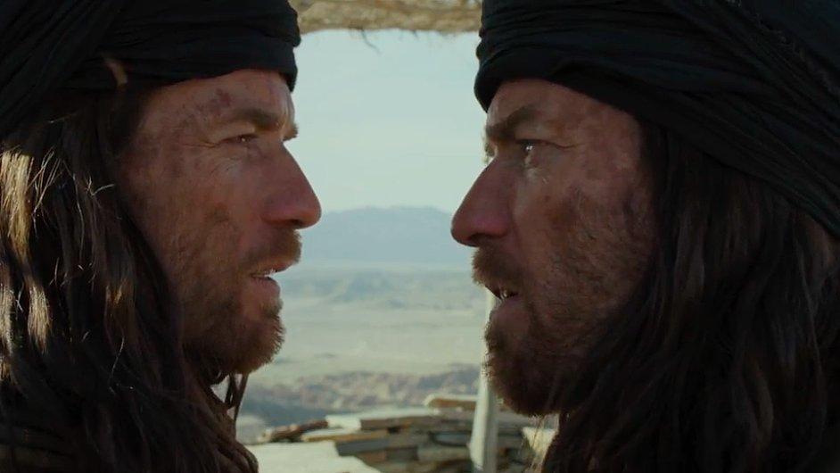 Britský herec Ewan McGregor ztvárnil dvojroli Ježíše Krista a Ďábla.