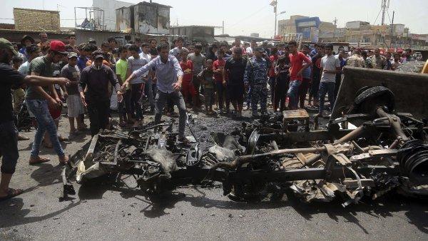 Irácká metropole je ve stavu vysoké pohotovosti po bombových útocích z 3. července, při kterých přišlo o život nejméně 292 osob.