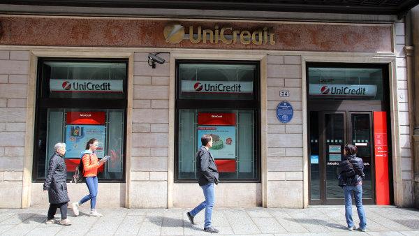 Italská UniCredit je údajně v Česku a na Slovensku na prodej - Ilustrační foto.