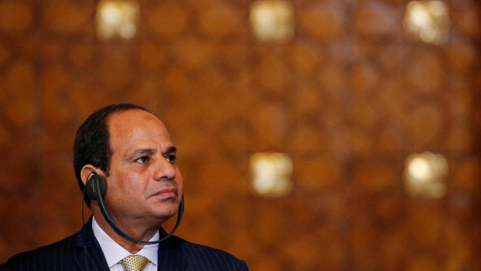 Egyptský prezident Abd al-Fattáh as-Sísí.
