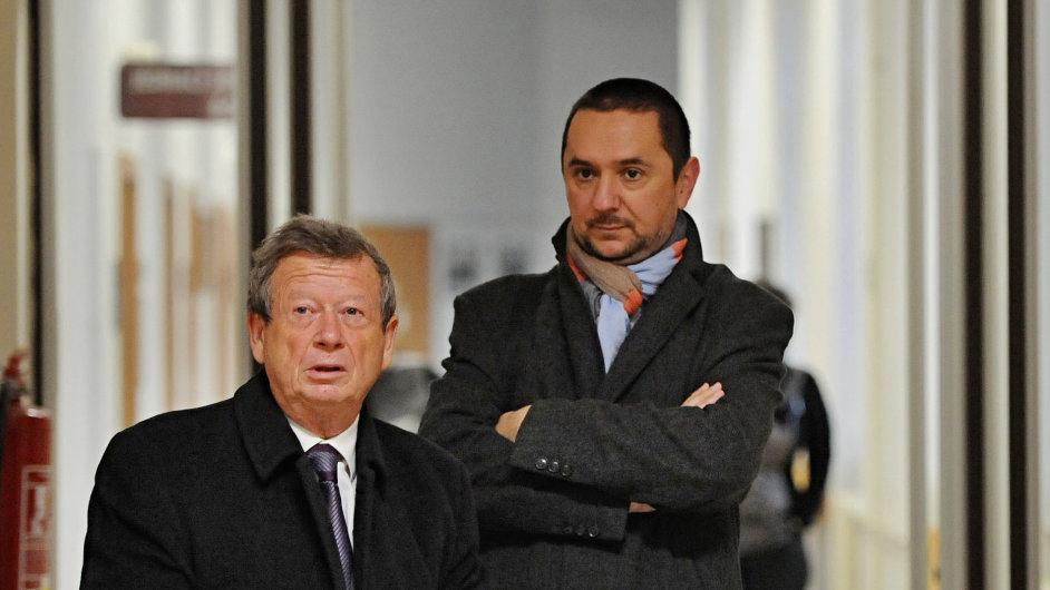 Bývalý primátor Českých Budějovic Juraj Thoma (vpravo).