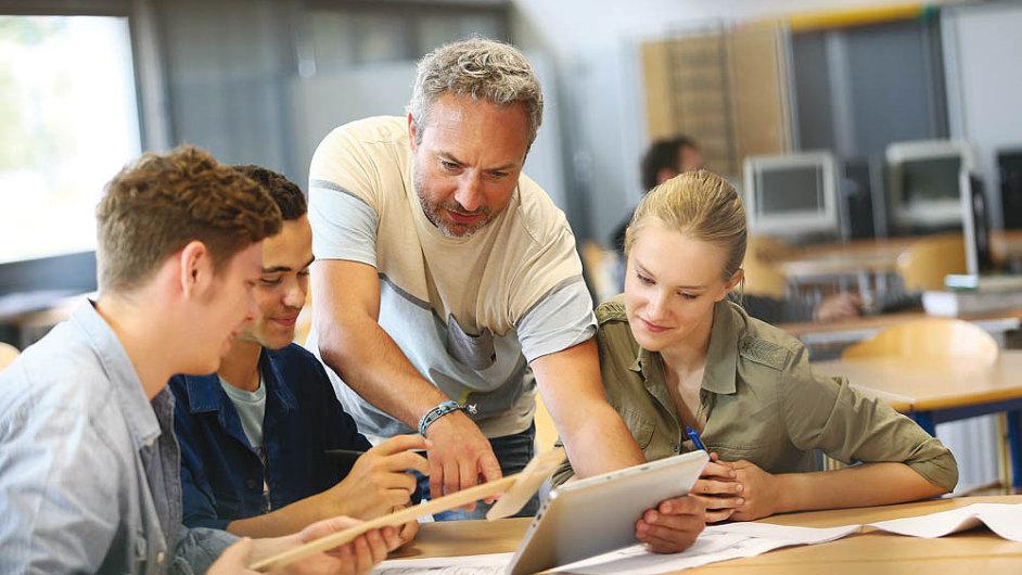 Rozvoj digitálního vzdělávání - ilustrační foto.