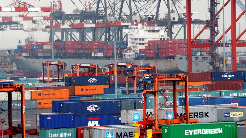 Volný obchod, kontejnery, obchod
