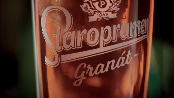 Kampaň na Staropramen Granát - 2017