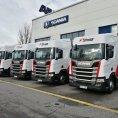 Díky akvizici dopravní a skladová kapacita firmy Šmídl vzrostla téměř dvojnásobně.