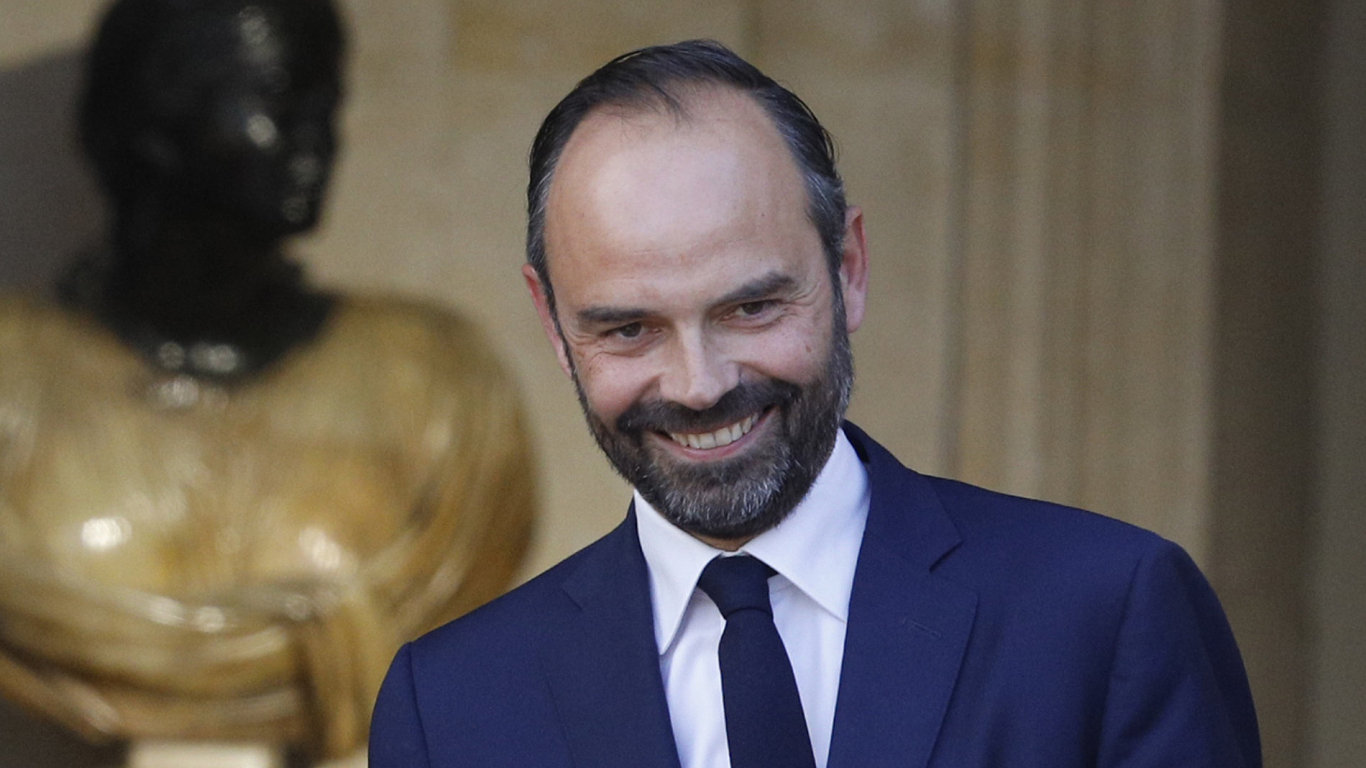 Newly appointed French Prime Minister Edouard Philippe