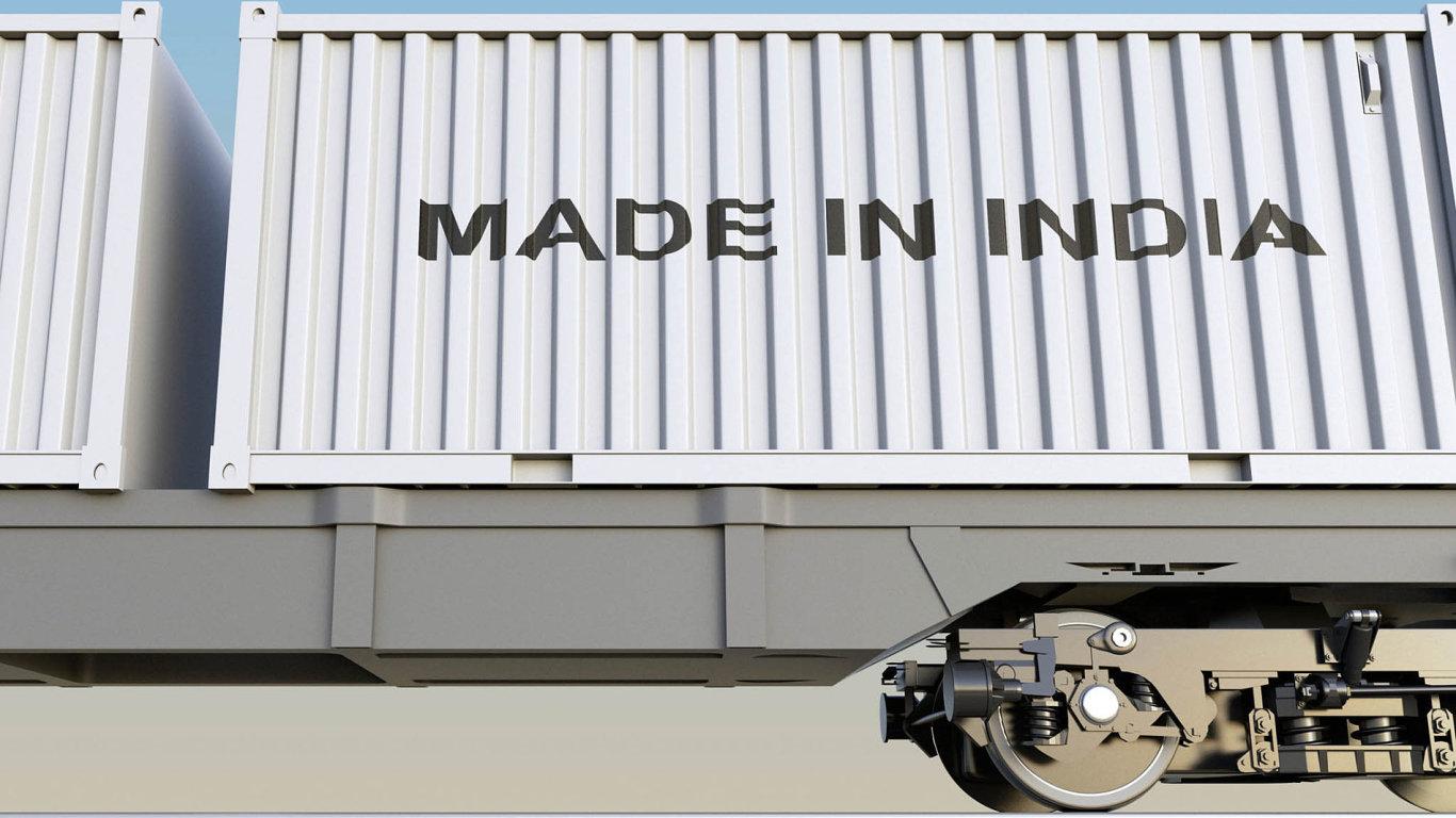 Indie si předsevzala, že zvýší úlohu zpracovatelského průmyslu vesvém hospodářství. Tento sektor nyní vytváří asi 18 procent hrubého domácího produktu.
