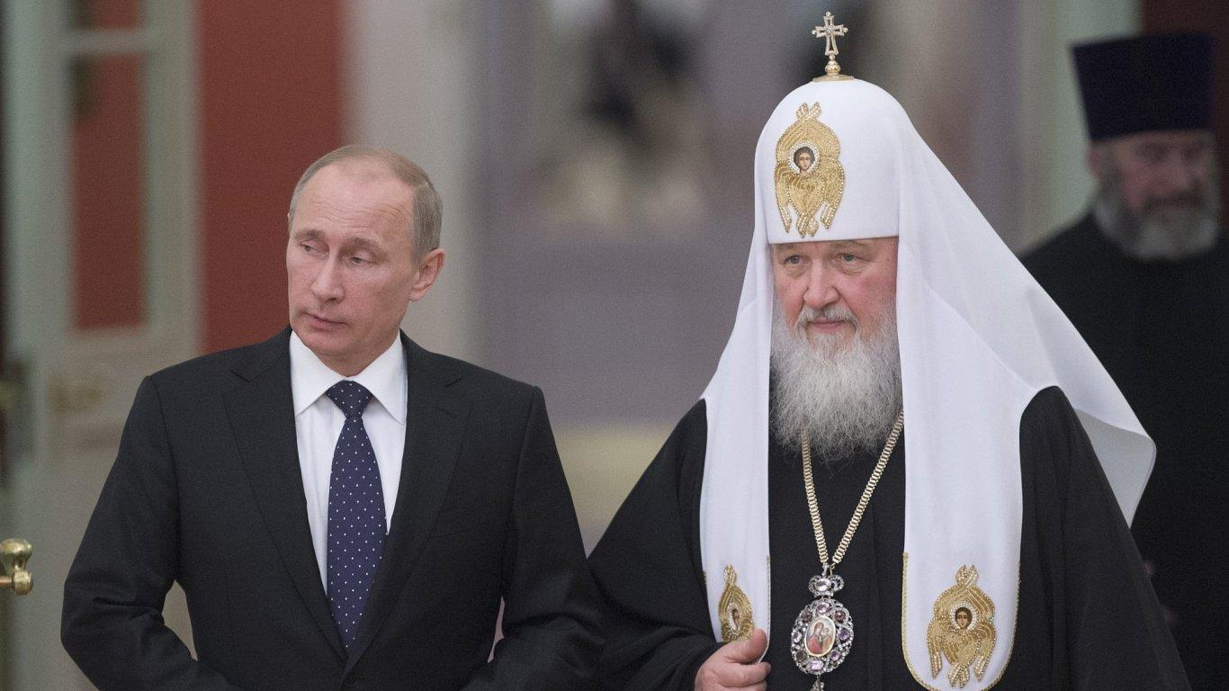 Vladimir Putin a patriarcha Kirill