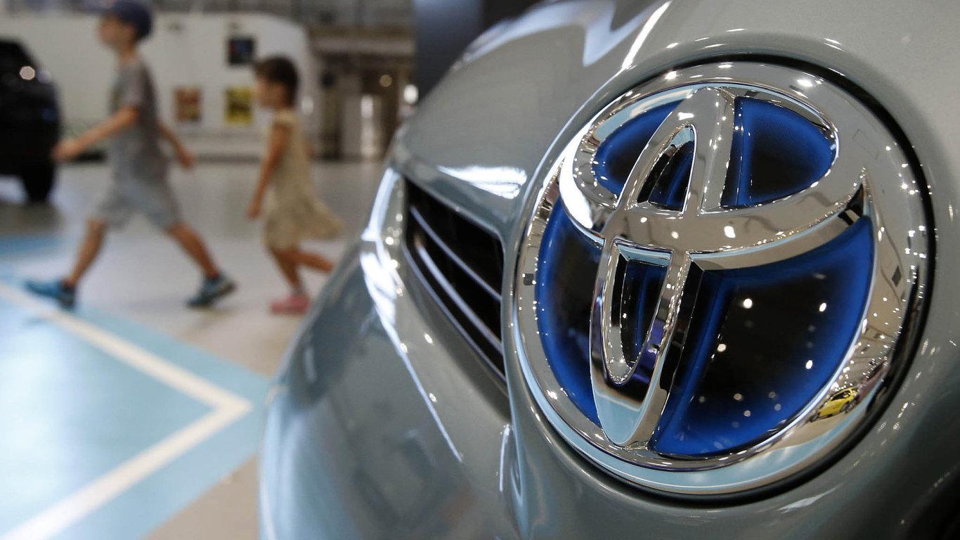 Toyota loni vydělala 504 miliard korun - Ilustrační foto.