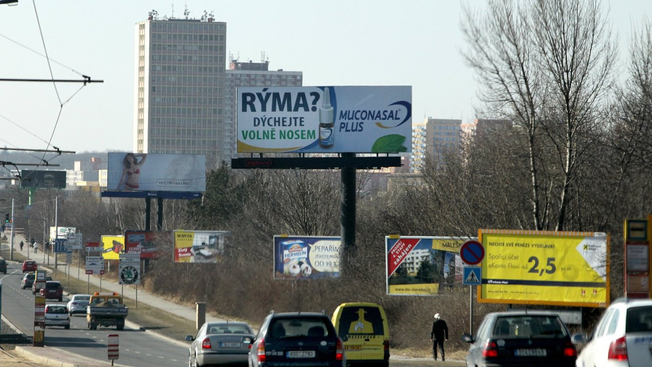 Billboard - Ilustrační foto.