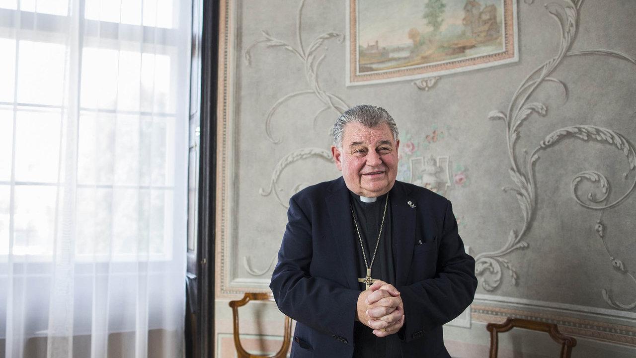 Dominik Duka, pražský arcibiskup a kardinál.