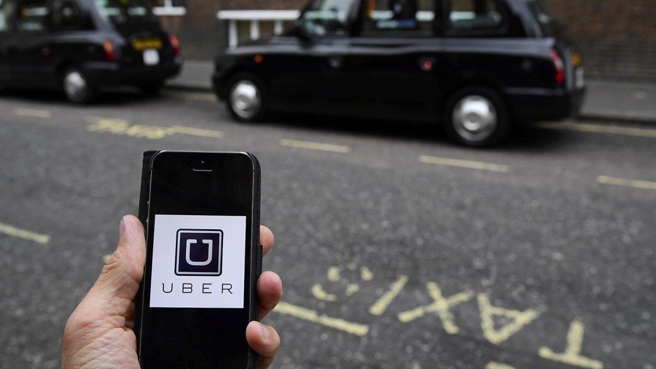 Uber Británie rozsudek