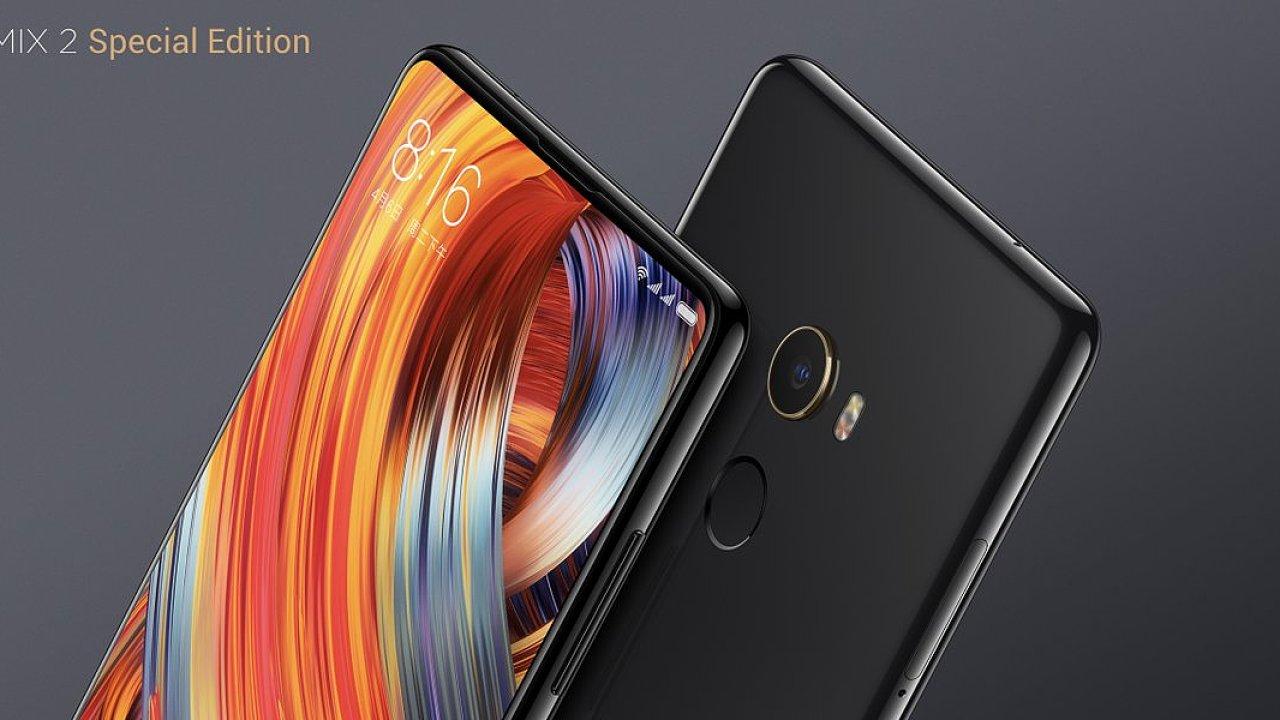 Xiaomi Mi Mix má v nové verzi ještě menší rámečky