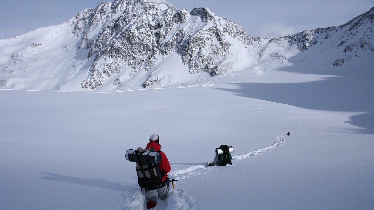 Na zimním výletě oceníte lehké a skladné vybavení.