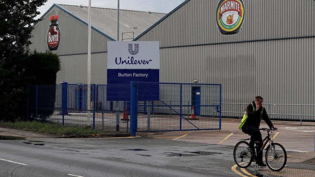 Britsko-nizozemský výrobce spotřebního zboží Unilever