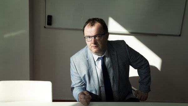 Insolvenční správce David Vandrovec.